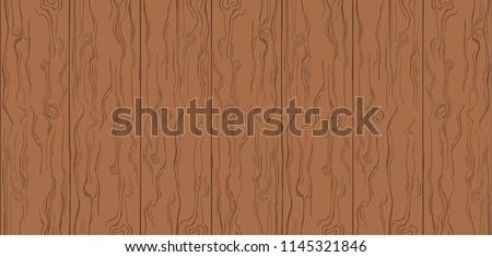 Cartoon Wood Planks Seamless Texture Download Free Vector Art