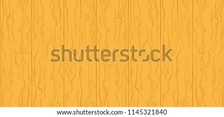 Wood Texture Yellow Orange Color Simple Cartoon Wooden Planks Summer