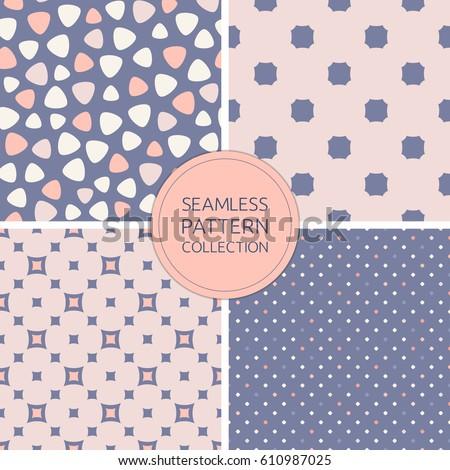 seamless patterns vector