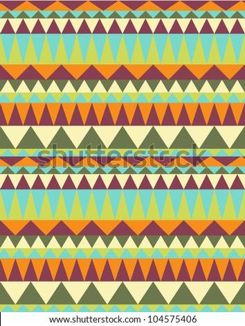 Seamless peruvian pattern