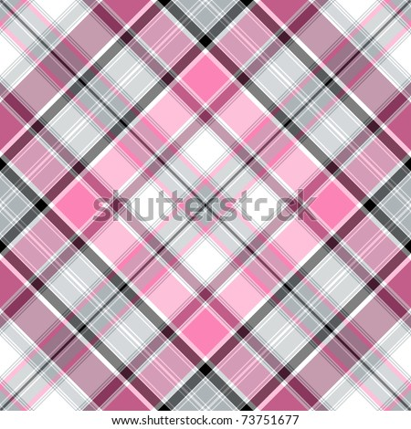 Seamless pink-gray-white cross gentle pattern (vector EPS 10)