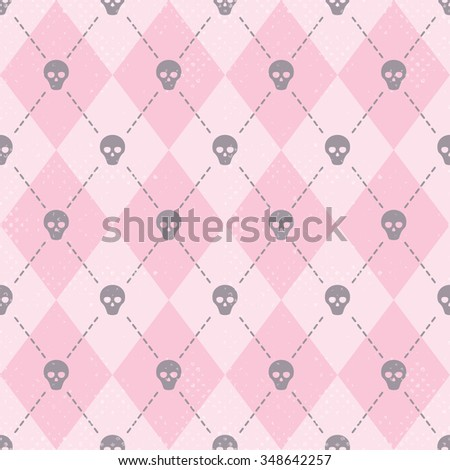 seamless pink pattern with