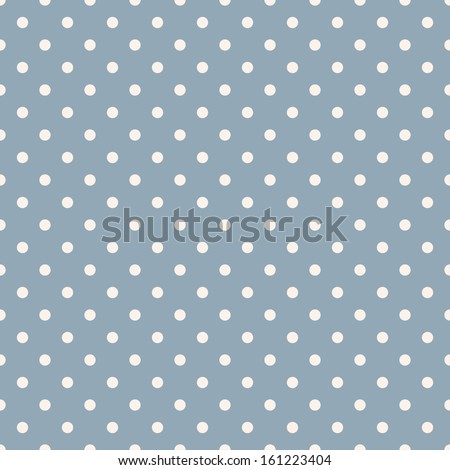 seamless polka dot blue pattern