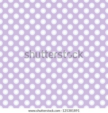 Seamless polka dot pattern in retro style, subtle colors. Can be used to fabric design, wallpaper, decorative paper, scrapbook albums, web design, etc. Swatches of seamless pattern included in file