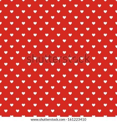 seamless polka dot red pattern