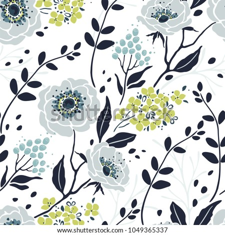 seamless pretty pattern with...