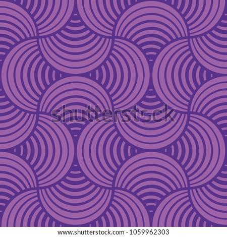 seamless purple petals ultra