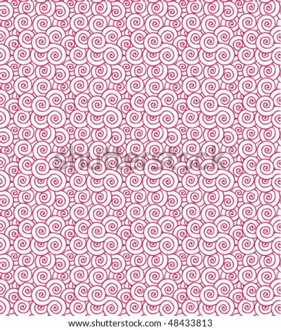 Seamless purple swirls repeating pattern texture