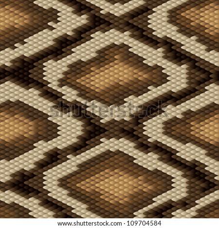 seamless python snake skin