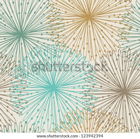Seamless radial pattern. Netting abstract background