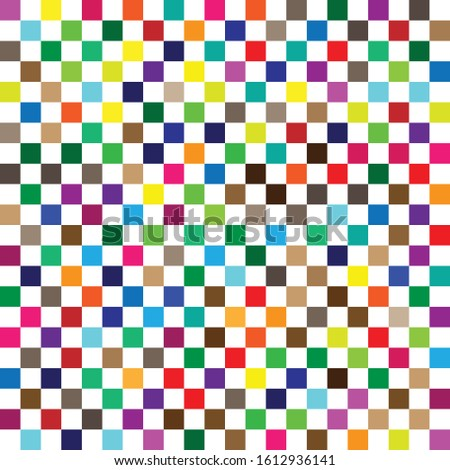seamless random squares, mosaic tiles pixelated, pixels colorful vibrant, vivid background / pattern. blocks repeatable pattern. checker, chequered grid, mesh. tessellation, cellular tileable texture