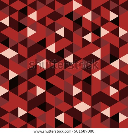 seamless red pattern of