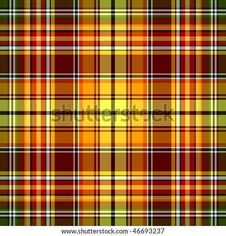 Seamless red, yellow and green pattern (vector, EPS 10)