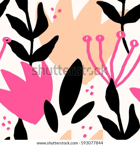 seamless repeat pattern with
