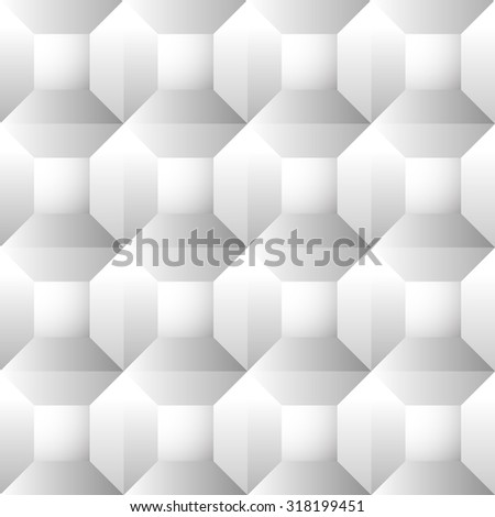 stock vector seamless repeatable patterns with beveled squares abstract grayscale monochrome revetment 318199451 - Каталог — Фотообои «3D Текстуры»