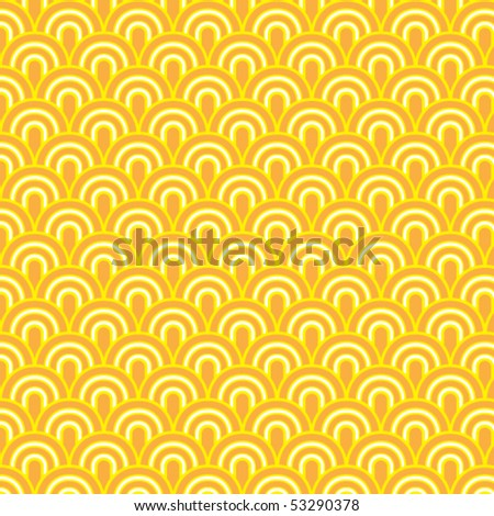 Seamless retrò pattern