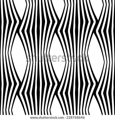 Seamless ripple pattern. Repeating vector texture. Wavy graphic background. geometric pattern can be used for wallpaper, pattern fills, web page background, surface textures.