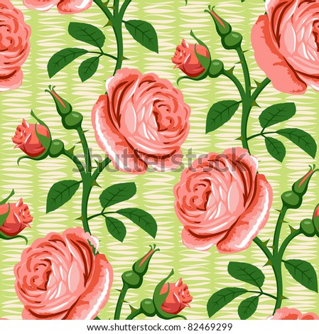 seamless rose pink background
