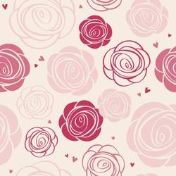 seamless roses pattern