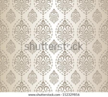 seamless silver pattern
