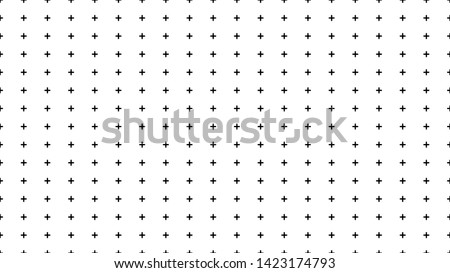 Seamless simple pattern of dotted cross, plus sign. Aspect ratio, full hd, 4K, for a widescreen display Photo stock ©