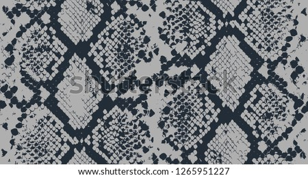 Seamless Snake Pattern