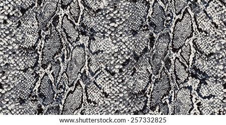 seamless snake python textile