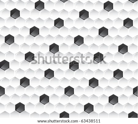Seamless soccer pattern (vector)