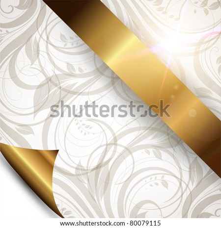Seamless spring or summer wallpaper, vector background for design. eps 10. Free place for text.