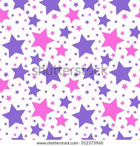 seamless star pattern vector 01