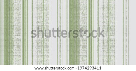 Seamless striped lime green  gradient pattern swatch.  Dyed  ink bleed effect. Abstract masculine neutral ombre drip line tone. Moody light natural tan linear paint all over print. Foto d'archivio ©