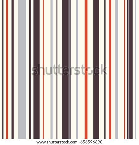 Seamless striped pattern in retro colors. Vector illustration.