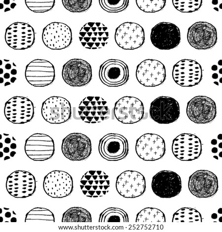 seamless stylish pattern with