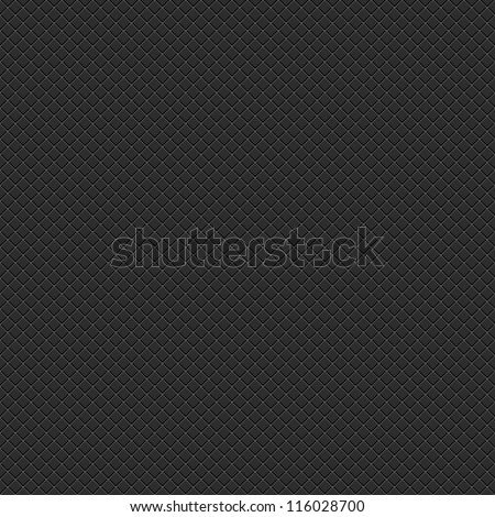 Seamless subtle pixel patterns with crisscross wire mesh textured on black background. Popular template backdrop for web internet project or site. Vector illustration design element clip-art 8 eps.
