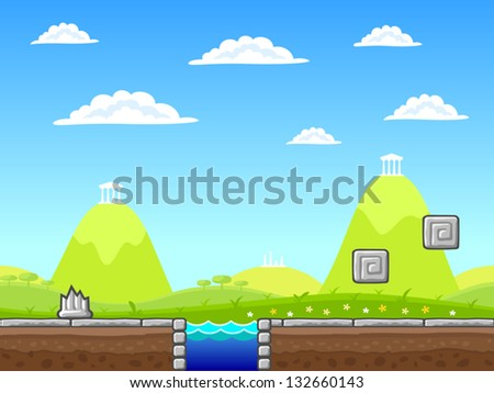 stock-vector-seamless-summer-landscape-w
