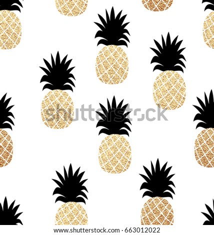 seamless summer pattern with