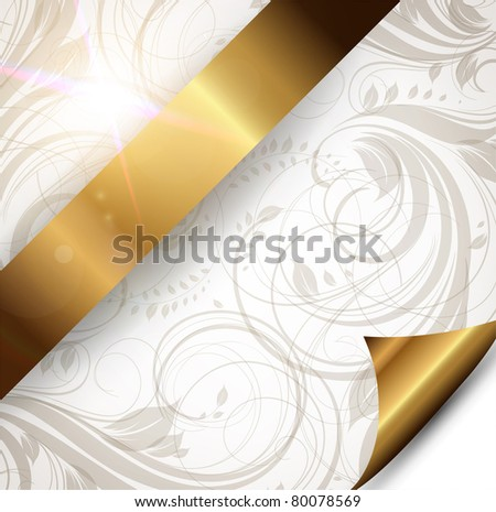 Seamless summer wallpaper, vector background for design. eps 10. Free place for text.