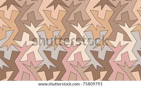Seamless tessellated background