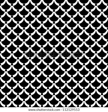 "Seamless texture. ""Fish scale"" pattern. Vector art."