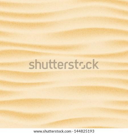 Seamless texture of sand beach. Sand background template. Sand beach