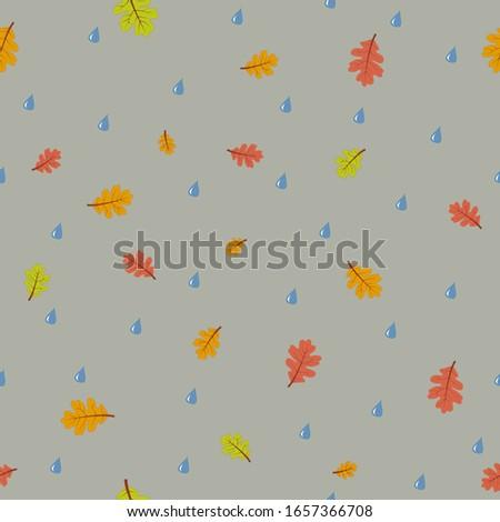 seamless texture  rainy weather