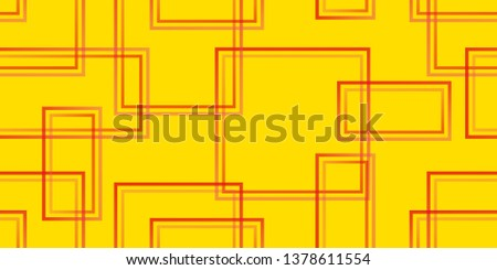 Seamless texture. Retro style. Squares. Background from squares. Quadrilaterals. Modern pattern. Square elements. Vector graphics