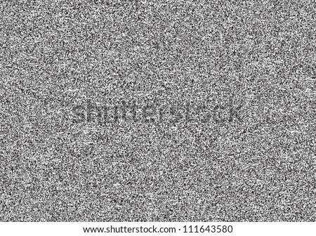 Seamless texture with television grainy noise effect for background. TV screen no signal. Horizontal template rectangle a4 format