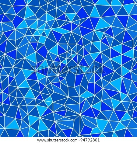 Seamless texture with triangles, mosaic endless pattern, vector illustration