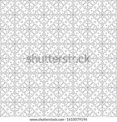 Seamless tileable repeat pattern in vector format. The line / stroke width are all adjustable. the background is transparent, easy to use and to edit.