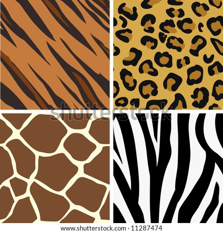 animal print patterns of