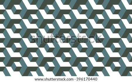seamless timber green op art
