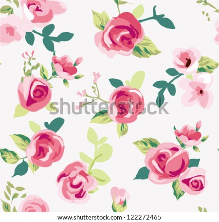 seamless tiny rose pattern background,flower,floral