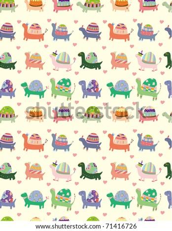 seamless tortoise pattern