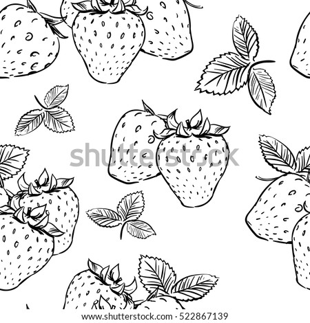 seamless tropical pattern with